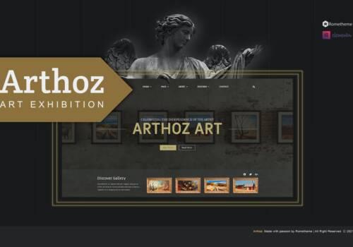 Arhoz+-+Art+Exhibition+Elementor+Template+kit